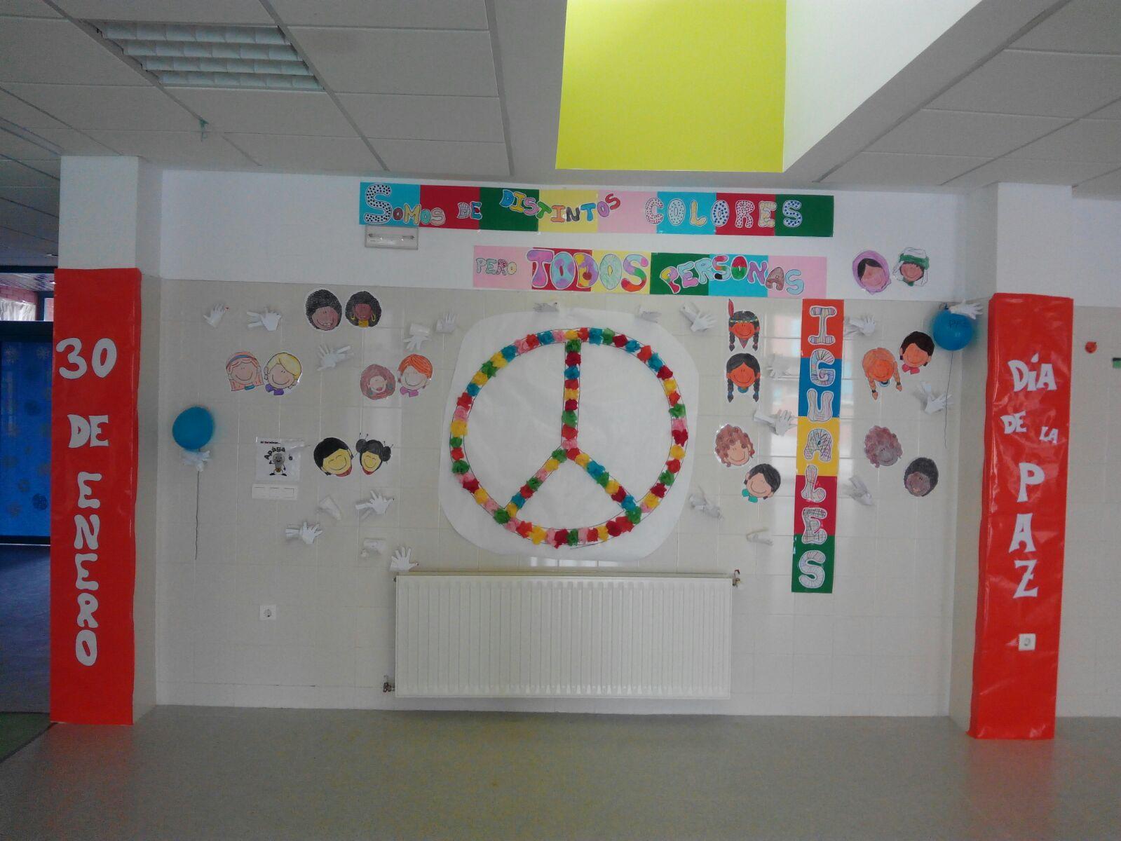 Rincón De Infantil Día De La Paz: EL CEIP VIRGEN DEL ROSARIO CELEBRA EL DÍA DE LA PAZ