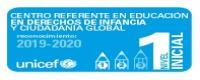 Credencial Certificado Centro Referente UNICEF